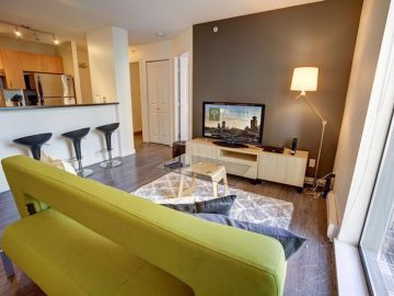 Accommodation furnished vancouver apartment for rent at Oscar