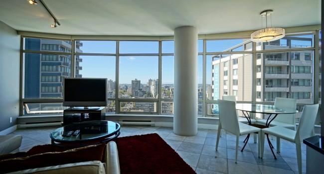 Large 2 Bedroom Alberni st Vancouver Furnished Apartment Rental